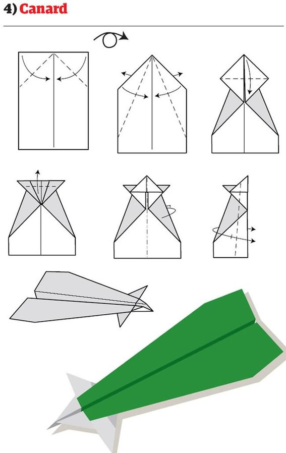 Как сделать быстрый самолет из бумаги видео - Stoma Estetica
